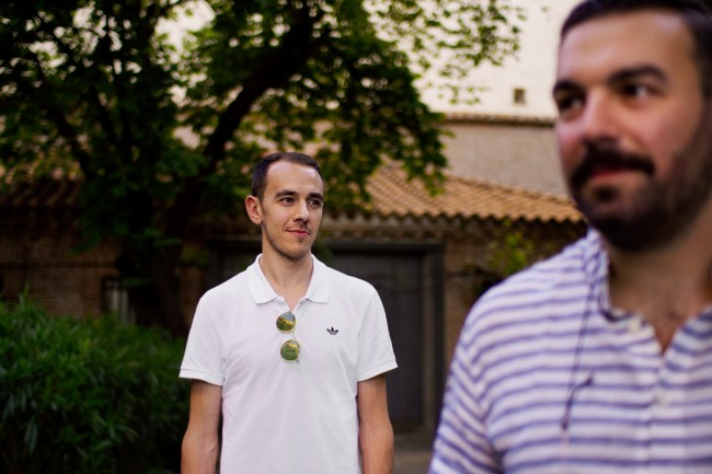 Alberto Cadado y Rober Bodegas. Foto de imeminemagazine®,